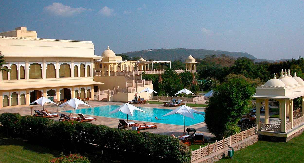 Tesoros artísticos de India del Norte - Hotel Trident (Udaipur)