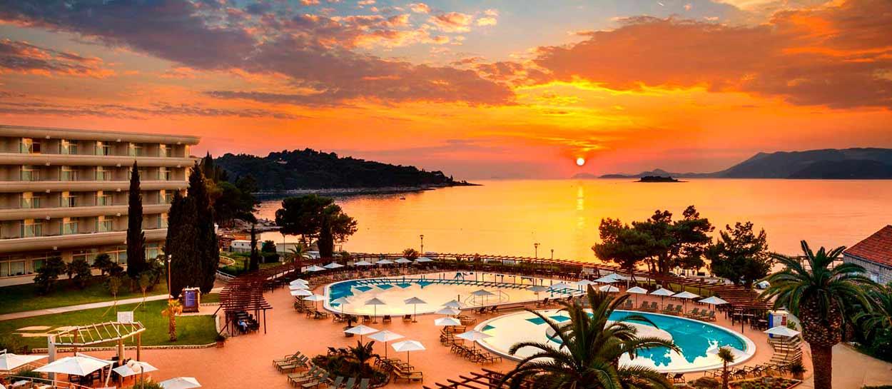 Hotel Remisens Albatros (Dubrovnik) - Tour de Croacia de salida garantizada con guía en español
