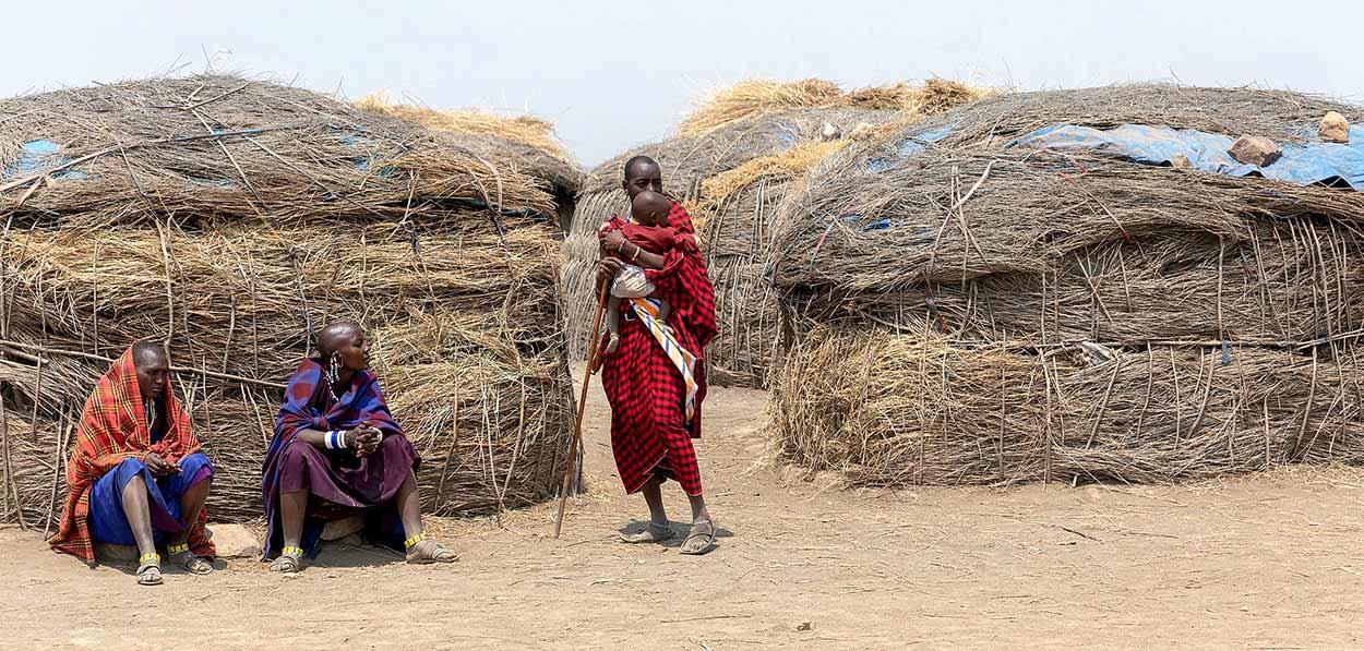 Una aldea masai - Qué ver en Kenia en 14 días