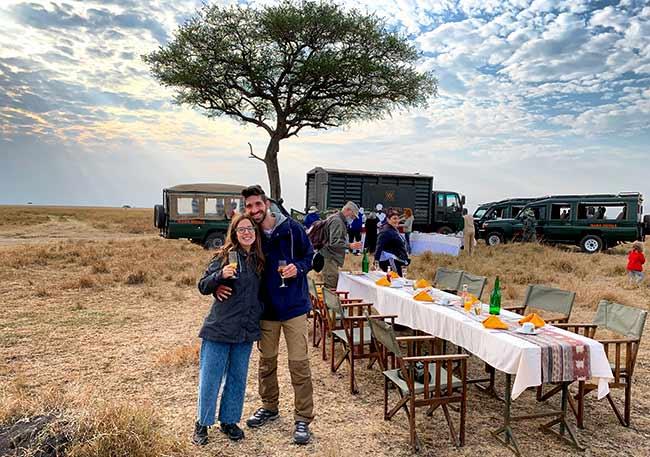 Testimonio de Safari en Kenia de Bea y Chema
