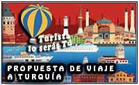propuesta de viaje a Turquía